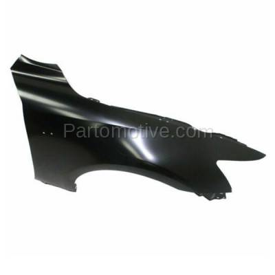 Aftermarket Replacement - FDR-1404R 2014-2020 Lexus IS200T IS250 IS300 IS350 (For Models with F-Sport Package) Front Fender Quarter Panel Primed Steel Right Passenger Side - Image 3