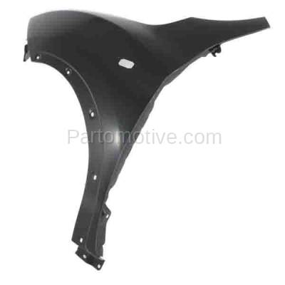 Aftermarket Replacement - FDR-1413L 2011-2012 Nissan Juke (1.6 Liter Turbocharged Engine) Front Fender Quarter Panel (with Turn Signal Lamp and Flare Holes) Steel Left Driver Side - Image 2