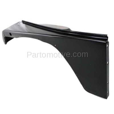 Aftermarket Replacement - FDR-1811L 1987-1995 Jeep Wrangler (without Renegade Package) Front Fender Quarter Panel (with Fender Flare Holes) Steel Left Driver Side - Image 3