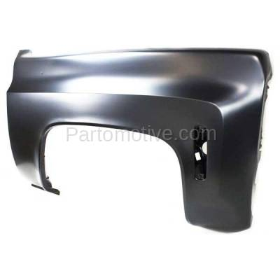 Aftermarket Replacement - FDR-1341R 1973-1980 Chevy/GMC C/K-Series Full Size Pickup Truck & Blazer/Jimmy/Suburban Front Fender Quarter Panel Steel Right Passenger Side - Image 2