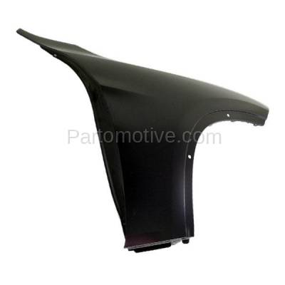 Aftermarket Replacement - FDR-1815R 2013-2015 BMW X1 (2.0 & 3.0 Liter Engine) Front Fender Quarter Panel (without Turn Signal Light Holes) Steel Right Passenger Side - Image 3