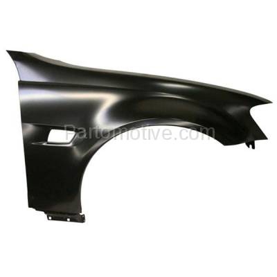 Aftermarket Replacement - FDR-1352R 2008-2009 Pontiac G8 (V6/V8 Engine) (USA Built Models) Front Fender Quarter Panel (with Turn Signal Light Hole) Right Passenger Side - Image 1
