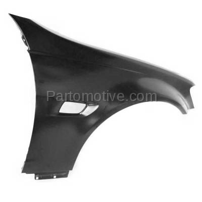 Aftermarket Replacement - FDR-1352R 2008-2009 Pontiac G8 (V6/V8 Engine) (USA Built Models) Front Fender Quarter Panel (with Turn Signal Light Hole) Right Passenger Side - Image 2