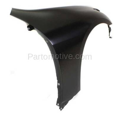 Aftermarket Replacement - FDR-1348R 2007-2013 Infiniti G25/G35/G37 & 2015 Q40 (without Sport Package) Front Fender Quarter Panel Primed Steel Right Passenger Side - Image 3