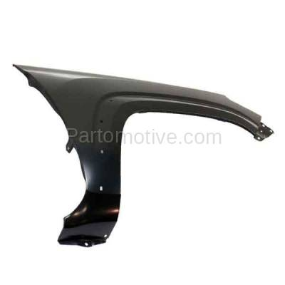 Aftermarket Replacement - FDR-1740R 2016-2020 Toyota Tacoma Pickup Truck (2WD & 4WD) Front Fender (with Wheel Opening Molding Holes) Primed Steel Right Passenger Side - Image 3