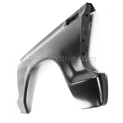 Aftermarket Replacement - FDR-1289R 1973-1979 Ford F-Series F100/F150/F250/F350/F500 Pickup Truck & 1978-1979 Bronco Front Fender Quarter Panel Steel Right Passenger Side - Image 3