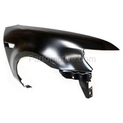 Aftermarket Replacement - FDR-1746R 2008 2009 Ford Taurus (Limited, SE, SEL) Front Fender Quarter Panel (with Applique Provision) Primed Steel Right Passenger Side - Image 2