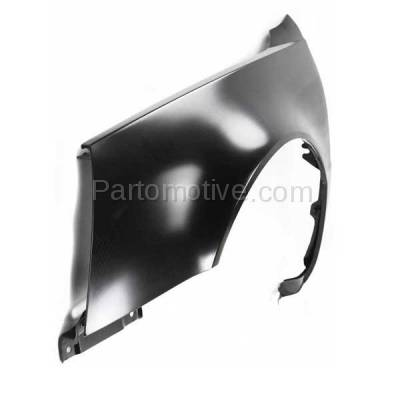 Aftermarket Replacement - FDR-1218L 2006-2011 Cadillac DTS (Hearse & Limousine & Sedan 4-Door) 4.6L Front Fender Quarter Panel Primed Steel Left Driver Side - Image 2