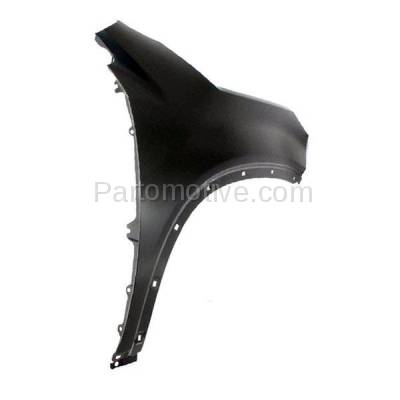 Aftermarket Replacement - FDR-1704R 2011 Kia Sorento (Base, EX, LX, SX) (2.4L & 3.5L) Front Fender (For Models without Side Garnish) Primed Steel Right Passenger Side - Image 3