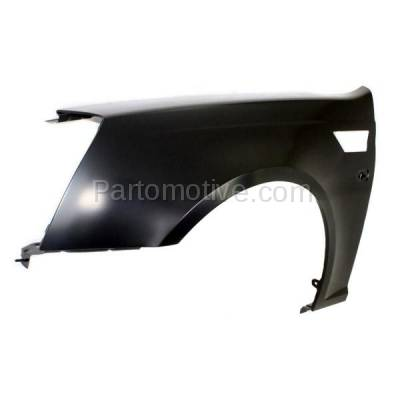 Aftermarket Replacement - FDR-1729L 2008-2011 Cadillac STS (Sedan 4-Door) V6/V8 Front Fender Quarter Panel (with Turn Signal Light Hole) Primed Steel Left Driver Side - Image 2