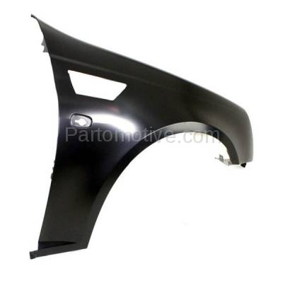 Aftermarket Replacement - FDR-1729R 2008-2011 Cadillac STS (Sedan 4-Door) V6/V8 Front Fender Quarter Panel (with Turn Signal Light Hole) Primed Steel Right Passenger Side - Image 3