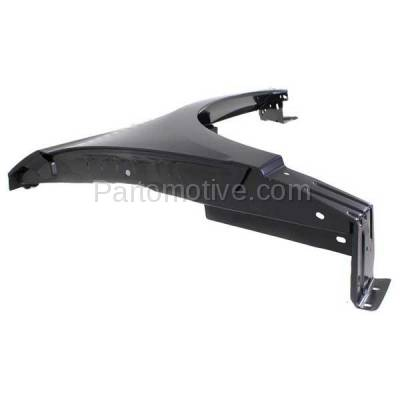 Aftermarket Replacement - FDR-1237R 2015-2020 Ford Edge (2.0 & 2.7 & 3.5 Liter Engine) Front Fender Quarter Panel Primed Steel without Molding Holes Right Passenger Side - Image 2
