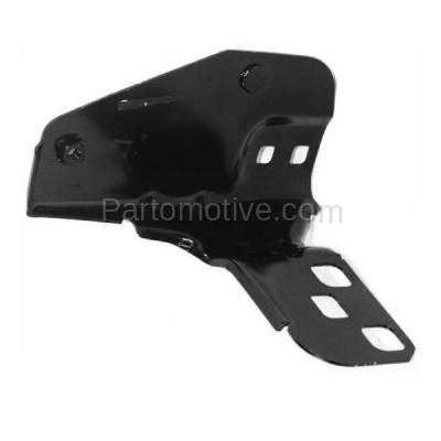 Aftermarket Replacement - BBK-1526R 2000-2003 Nissan Sentra Front Bumper Cover Face Bar Upper Retainer Mounting Brace Stay Bracket Made of Steel Right Passenger Side - Image 2