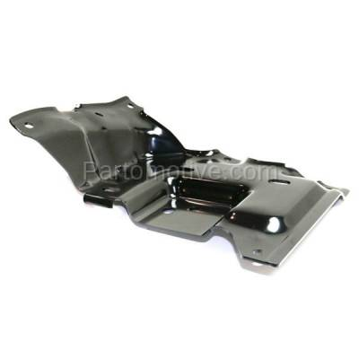 Aftermarket Replacement - BBK-1138R 2015-2017 Ford F150 Pickup Truck (Models with Side Bumper Cover) Front Bumper Mounting Brace Bracket Plate Steel Right Passenger Side - Image 2