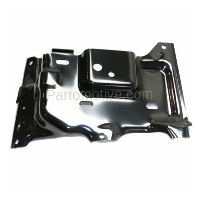 Aftermarket Replacement - BBK-1138R 2015-2017 Ford F150 Pickup Truck (Models with Side Bumper Cover) Front Bumper Mounting Brace Bracket Plate Steel Right Passenger Side - Image 3
