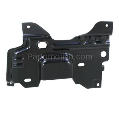 Aftermarket Replacement - BBK-1142L 2009-2014 Ford F150 Lightduty Pickup Truck Front Bumper Face Bar Retainer Mounting Plate Brace Bracket Made of Steel Left Driver Side - Image 3