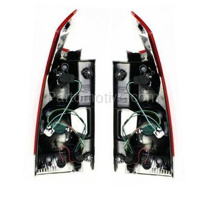 Aftermarket Auto Parts - TLT-1212LC & TLT-1212RC CAPA 07-09 Quest Taillight Taillamp Rear Brake Light Lamp Right & Left Set PAIR - Image 3