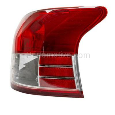 Aftermarket Auto Parts - TLT-1328RC CAPA 06-12 Yaris Sedan Taillight Taillamp Rear Brake Light Lamp Passenger Side - Image 2
