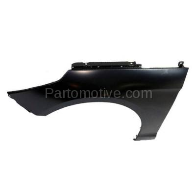 Aftermarket Replacement - FDR-1698L 2015-2017 Hyundai Sonata (excluding Hybrid Models) Front Fender Quarter Panel (without Molding Holes) Primed Steel Left Driver Side - Image 2