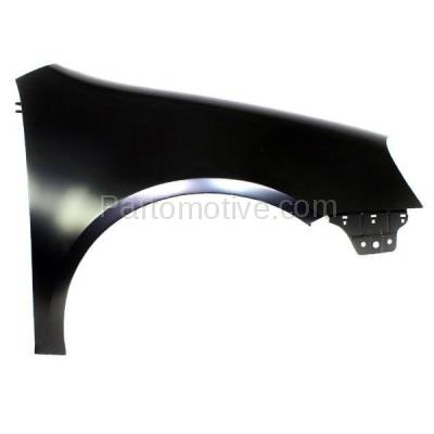Aftermarket Replacement - FDR-1588R 2006-2009 Volkswagen GTI & Rabbit, 2006 Golf (Hatchback 2/4-Door) Front Fender without Turn Signal Lamp Hole Right Passenger Side - Image 1