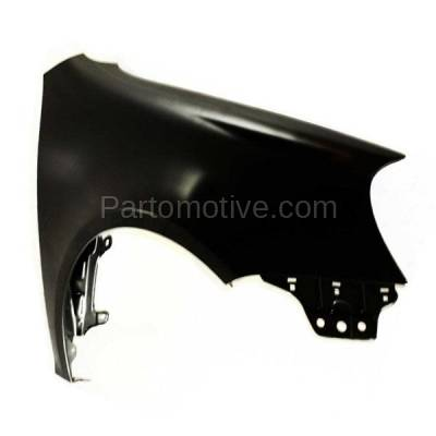 Aftermarket Replacement - FDR-1588R 2006-2009 Volkswagen GTI & Rabbit, 2006 Golf (Hatchback 2/4-Door) Front Fender without Turn Signal Lamp Hole Right Passenger Side - Image 2