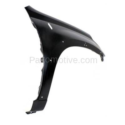 Aftermarket Replacement - FDR-1603R 2001-2005 Toyota RAV4 Front Fender Quarter Panel (with Wheel Opening Molding or Flare Holes) Primed Steel Right Passenger Side - Image 3