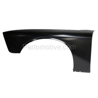 Aftermarket Replacement - FDR-1137L 2008-2019 Dodge Challenger (3.5 & 3.6 & 5.7 & 6.1 & 6.2 & 6.4 Liter V6/V8 Engine) Front Fender Quarter Panel Left Driver Side - Image 1