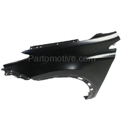 Aftermarket Replacement - FDR-1607L 2013-2018 Toyota RAV4 (2.5 Liter Engine) Except EV Model (Japan Built) Front Fender Quarter Panel Primed Steel Left Driver Side - Image 3