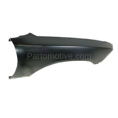 Aftermarket Replacement - FDR-1139R 2011-2014 Dodge Charger (Sedan 4-Door) Front Fender Quarter Panel (without Molding Holes) Primed Steel Right Passenger Side - Image 2