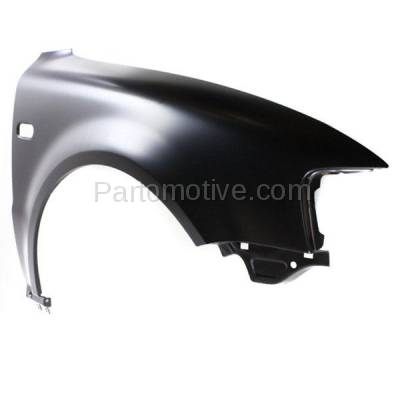 Aftermarket Replacement - FDR-1556R 1998-2001 Volkswagen Passat (1.8 & 2.8 Liter Engine) (2001 Models with Old Body Style) Front Fender Quarter Panel Steel Right Passenger Side - Image 2