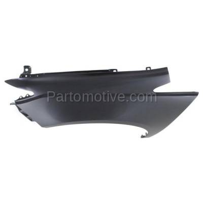 Aftermarket Replacement - FDR-1536L 2014-2017 Honda Odyssey Van (3.5 Liter V6 Engine) Front Fender Quarter Panel Primed Aluminum Left Driver Side - Image 3