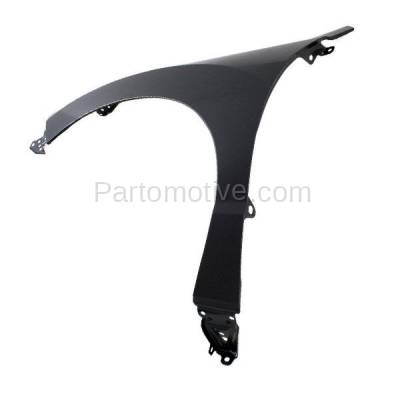 Aftermarket Replacement - FDR-1612L 2013-2018 Acura RDX (3.5 Liter V6 Engine) Front Fender Quarter Panel (without Molding Holes) Primed Steel Left Driver Side - Image 2