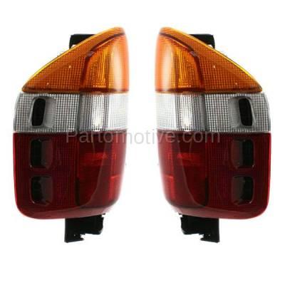 Aftermarket Replacement - TLT-1223L & TLT-1223R Passport Amigo Rodeo Taillamp Taillight Brake Light Lamp Left & Right Set PAIR - Image 2