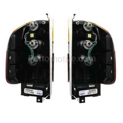 Aftermarket Replacement - TLT-1223L & TLT-1223R Passport Amigo Rodeo Taillamp Taillight Brake Light Lamp Left & Right Set PAIR - Image 3