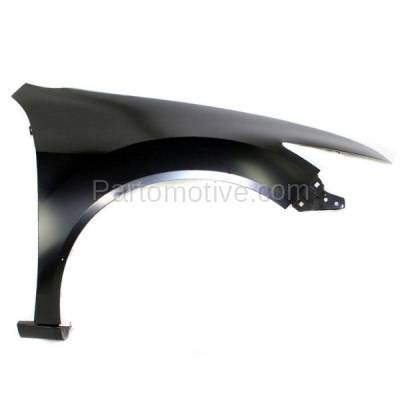 Aftermarket Replacement - FDR-1782R 2009-2014 Acura TSX (Sedan & Wagon 4-Door) (2.4L 3.5L 4Cyl/6Cyl Engine) Front Fender Quarter Panel Primed Steel Right Passenger Side - Image 1