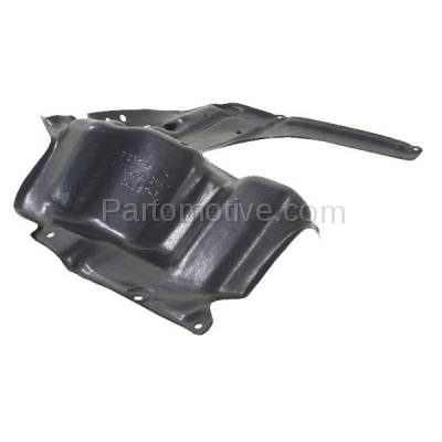 Aftermarket Replacement - ESS-1591R 2014-2019 Toyota Corolla 1.8L Sedan Front Engine Under Cover Splash Shield Undercar Guard Air Deflector Plastic Right Passenger Side - Image 2