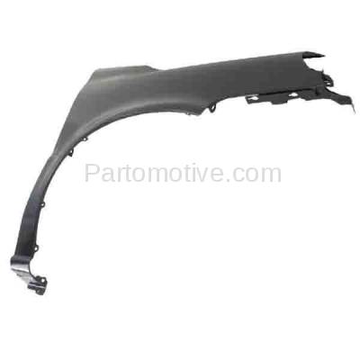 Aftermarket Replacement - FDR-1792R 2005-2009 Chevrolet Uplander & Pontiac Montana & Buick Terraza & Saturn Relay Van Front Fender Primed Steel Right Passenger Side - Image 2
