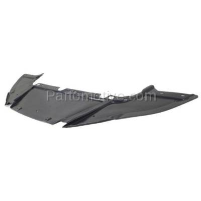 Aftermarket Replacement - ESS-1133 12-14 Focus Sedan Front Engine Splash Shield Under Cover/Air Deflector FO1228119 - Image 2