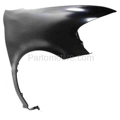 Aftermarket Replacement - FDR-1795R 1997-2005 Chevrolet Venture & Pontiac Montana, Trans Sport & Oldsmobile Silhouette (3.4L 3.5L) Front Fender Primed Steel Right Passenger Side - Image 3