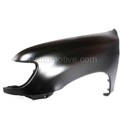 Aftermarket Replacement - FDR-1788L 2000-2006 Toyota Tundra Pickup Truck (excluding Double Crew Cab) Front Fender (without Flare Holes) Primed Steel Left Driver Side - Image 2