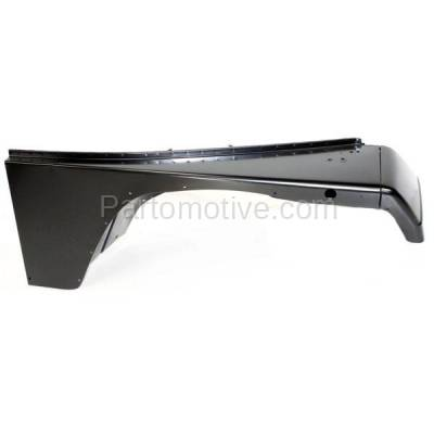 Aftermarket Replacement - FDR-1811R 1987-1995 Jeep Wrangler (without Renegade Package) Front Fender Quarter Panel (with Fender Flare Holes) Steel Right Passenger Side - Image 1