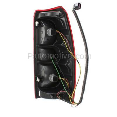 Aftermarket Auto Parts - TLT-1371LC CAPA 07-13 Chevy Avalanche Taillight Taillamp Rear Brake Light Lamp Driver Side - Image 3
