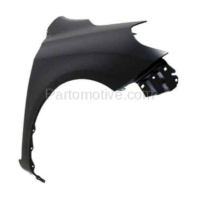 Aftermarket Replacement - FDR-1800R 2012-2019 Nissan Versa 1.6L (Sedan 4-Door) Front Fender Quarter Panel (without Side Lamp) Primed Steel Right Passenger Side - Image 2