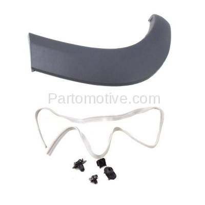 Aftermarket Replacement - FDT-1072R 01-05 RAV4 Rear Fender Molding Moulding Trim Arch Right Passenger Side TO1769101 - Image 2