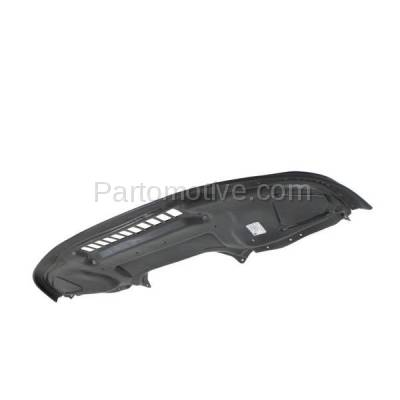 Aftermarket Replacement - ESS-1435 03-06 S-Class Front Engine Splash Shield Under Cover Guard MB1228110 2205245330 - Image 2