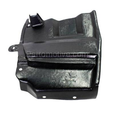 Aftermarket Replacement - ESS-1526R Engine Splash Shield Under Cover Undercar For 07-12 Altima Right Side 64838JA00A - Image 1