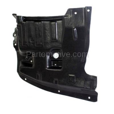 Aftermarket Replacement - ESS-1542L Front Engine Splash Shield Under Cover For 95-99 Maxima LH Driver Side NI4151101 - Image 2