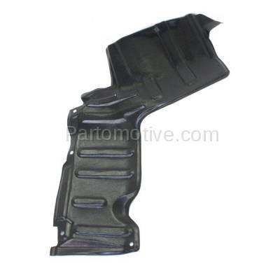 Aftermarket Replacement - ESS-1623R 96-00 RAV4 Front Engine Splash Shield Under Cover Automatic Trans Passenger Side - Image 1