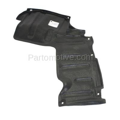 Aftermarket Replacement - ESS-1623R 96-00 RAV4 Front Engine Splash Shield Under Cover Automatic Trans Passenger Side - Image 2