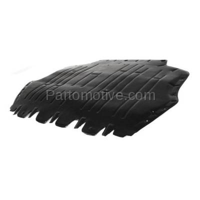 Aftermarket Replacement - ESS-1665 05-14 Jetta Front Engine Splash Shield Under Cover Guard VW1228104 1K0825237AE - Image 2